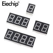 036 дюймов 1/2/3/4 бит светодиодный Дисплей 7 сегмент общий