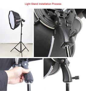 Image 3 - Triopo przenośna lampa błyskowa Speedlite Softbox z siatką o strukturze plastra miodu 65cm zdjęcie na zewnątrz Octagon parasol miękkie pudełko do Canon Nikon Godox