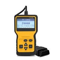 Obd2 scanner obd diagnóstico do carro auto-ferramenta de leitura clara códigos de erro de falha obdii scanner automotivo