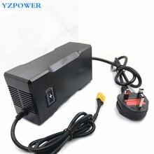 16.8V 9A 10A wbudowany wentylator litowo jonowy ładowarka do 4 serii 14.4V 14.8V litowo polimerowa bateria litowo jonowa