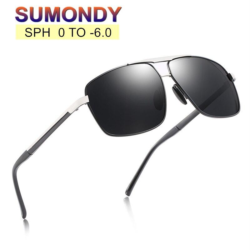 659.3руб. 75% СКИДКА|SUMONDY, очки по рецепту, солнцезащитные очки для близорукости, SPH от 0 до 6, для мужчин и женщин, очки для близорукости, для вождения, рыбалки, UF75|Женские очки для чтения| |  - AliExpress