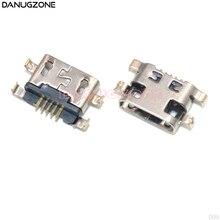 100 ピース/ロットマイクロ Usb 充電コネクタジャック充電ソケットポートレノボ A708t S890 ため 7040N Huawei 社 G7 g7 TL00