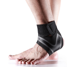 1PCS Breathable Sport Fitness Ankle Support Adjustable Lightweight Brace Material Sleeve Unisex for gym