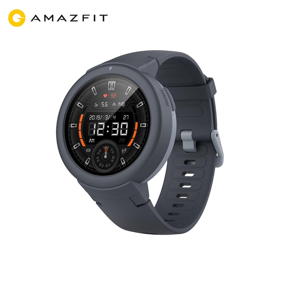 Huami <font><b>AMAZFIT</b></font> Verge <font><b>Lite</b></font> Smartwatch 20 Days Battery Life 1.3 Inch AMOLED Screen Built-in GPS Heart Rate Monitor Global Version image