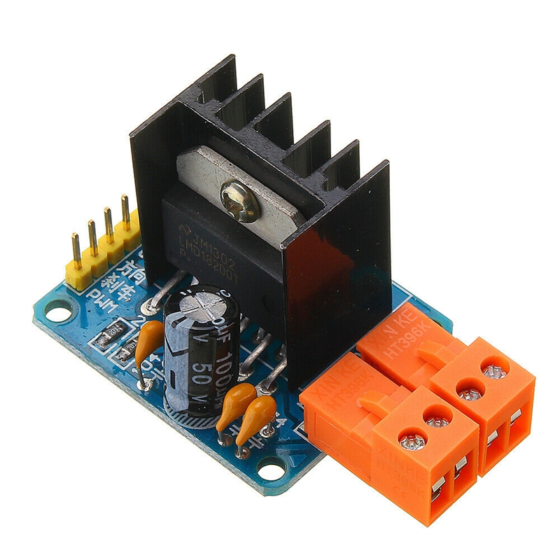 Image 2 - Lmd18200 Car Dc Motor Driver Module H Bridge Electronic Component-in Motor Driver from Home Improvement