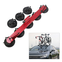 3*Suction Cup Bicycle Rack Suction Roof Top Bike Racks Carrier Quick Installation Roof Rack For MTB Mountain Road Bike Accessory