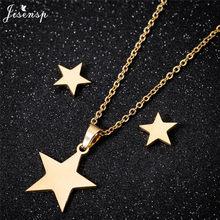 Collier en or avec pendentif étoile pour femmes, chaîne ras du cou de plage pour filles, bijoux de fête de noël, petite étoile