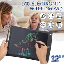 Творческий письмо и рисование планшет 12 дюймов блокнот цифровой ЖК-дисплей доска для рисования почерк доска объявлений для образования Бизнес