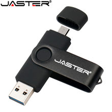 JASTER Nova usb 2.0 flash usb otg akıllı telefon/tablet/pc 8 gb 16 gb 32 gb 64 gb gb pendrives kalem sürücü(China)