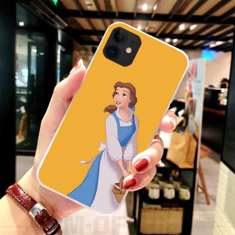 Viviana Salju Putih Mewah Desain Unik Penutup Telepon untuk iPhone 5C 5 5S SE 7 8 Plus X XS xr X Max 11 11 Pro 11 Pro Max