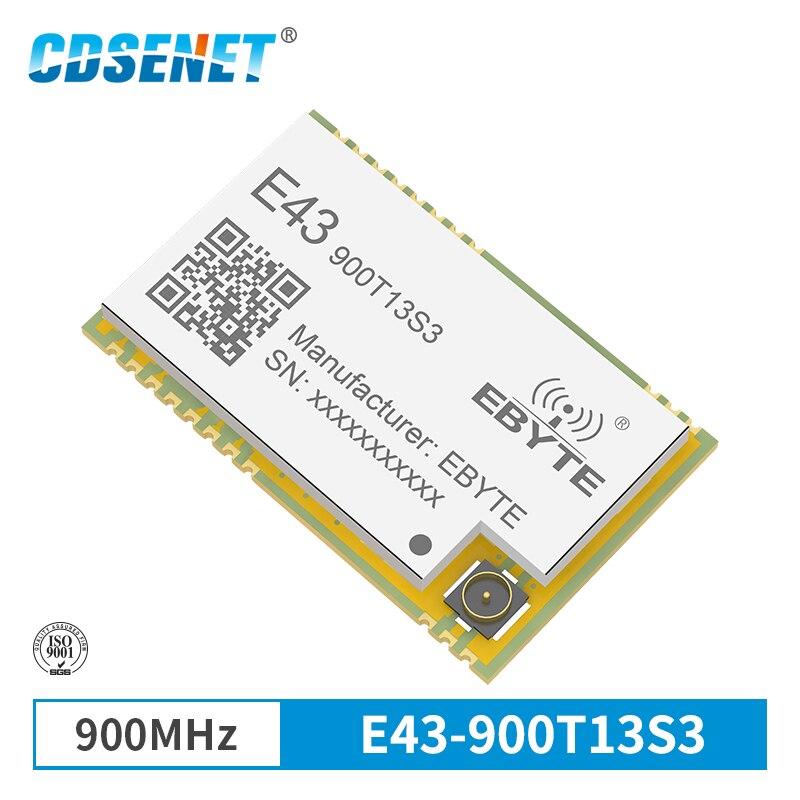 868 МГц 915 МГц беспроводной трансивер SMD модуль 13dBm IPEX E43-900T13S3 UART низкое энергопотребление RSSI передатчик приемник