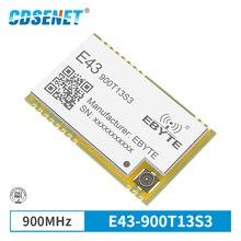 868MHz 915MHz جهاز الإرسال والاستقبال اللاسلكي وحدة SMD 13dBm IPEX E43 900T13S3 UART انخفاض استهلاك الطاقة RSSI جهاز ريسيفر استقبال وإرسال