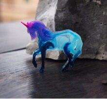 1 pc cavalo unicórnio pingente diy molde de silicone seco flor jóias acessórios ferramentas equipamentos moldes resina