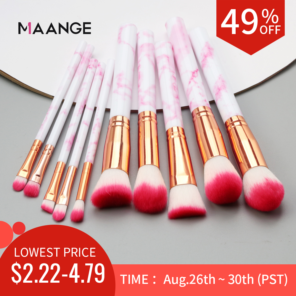 Concealer Makeup-Brush-Set-Tool Eyeshadow Multifunctional Maquiagem Pincel 7/10pcs