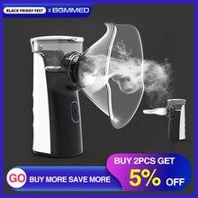 BGMMED MiniแบบพกพาNebulizer Inhaler Nebulizerสำหรับเด็กผู้ใหญ่Atomizer Nebulizadorอุปกรณ์การแพทย์หืด