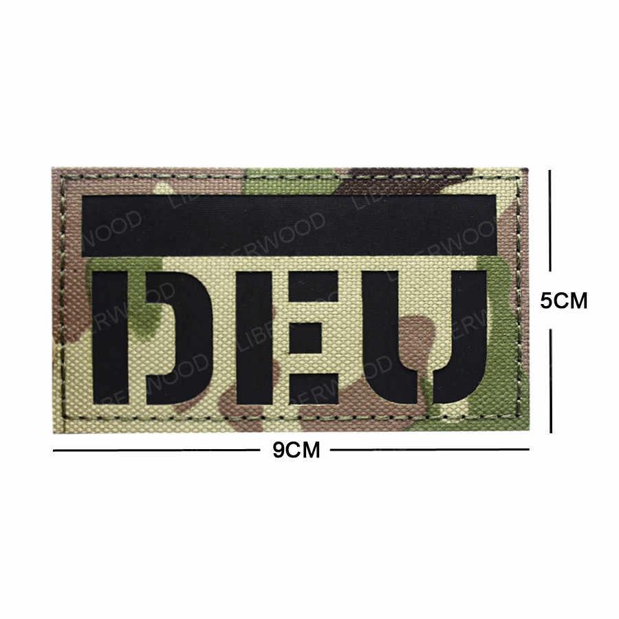 DEU niemcy podczerwieni odblaskowe IR łatka naszywka niemiecki Germen godło narodowe CP camo taktyczne aplikacja do naprasowania pętli hak