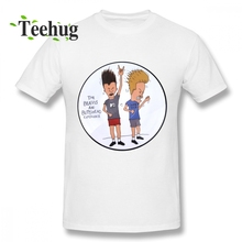 High-Q For Male Beavis And Butthead Homme Tee Shirt Crazy Top Design Birthday gift Man shirt