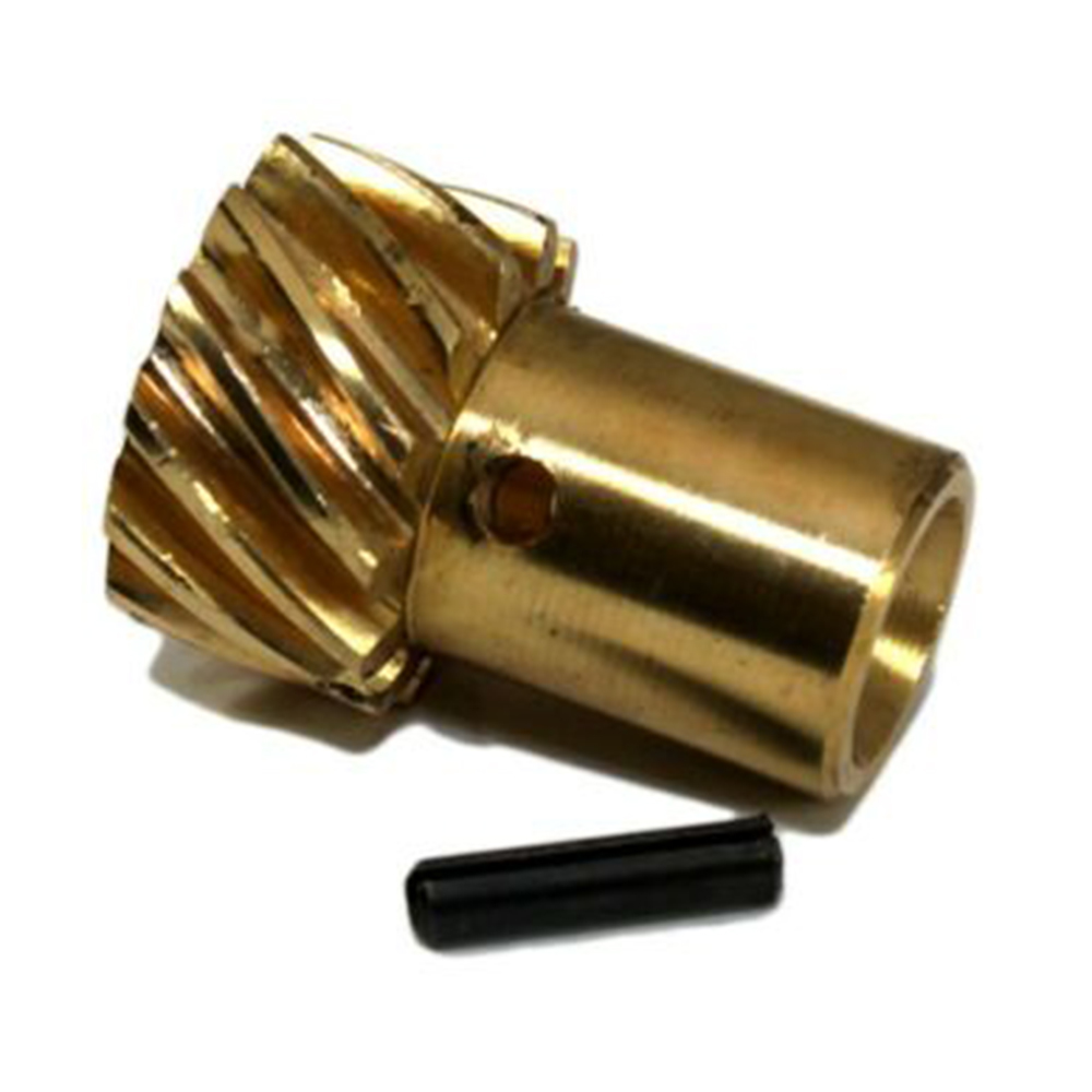 Roller Cam Distributor Gear Replacement Accessories Fit for Chevy MSD 350 .500in Shaft SBC Bronze Distributor Gear