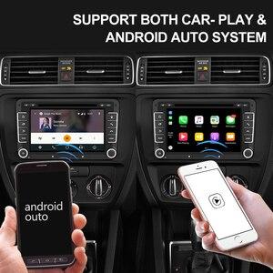 Image 4 - Isudar 2 Din Auto Radio Android 9 For VW/Golf/Tiguan/Skoda/Fabia/Rapid/Seat/Leon/Skoda Car GPS Multimedia Octa Core ROM 32GB DVR