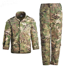Military-Uniform Soldier Combat Jacket Training-Suit Army Camouflage Kids Boy Special