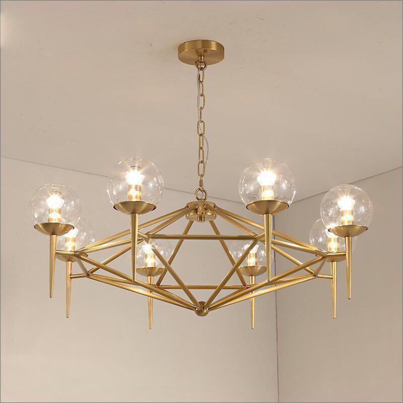 Nordic Deco Chambre  Hanging Ceiling Lamps Glass  Restaurant  Bedroom LED  Pendant Lights Hanging Lamp Luminaire Suspendu