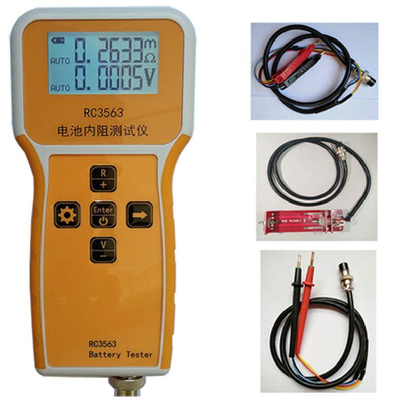 Modèle RC3563 testeur de résistance interne à la batterie véritable trieur de résistance interne à ca à quatre fils Test au Lithium-acide au plomb