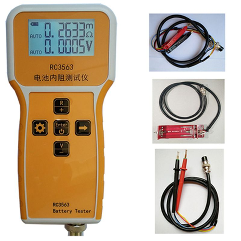 Model RC3563 Battery Internal Resistance Tester True Four wire AC Internal Resistance Sorter Lead acid Lithium UPS Test|Battery Testers|   - AliExpress