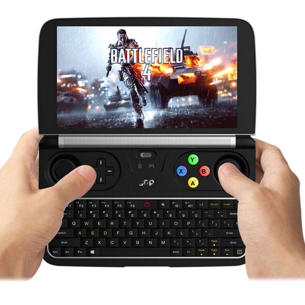 GPD Win2 6 Inches Game Console Handheld Mini Laptop Windows 10 Notebook 8GB/256GB Quad Core 2.4G/5G Dual Band Touch Screen