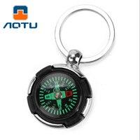 AOTU новая личность шин компас брелок может быть использован в качестве подарка украшение AT7624