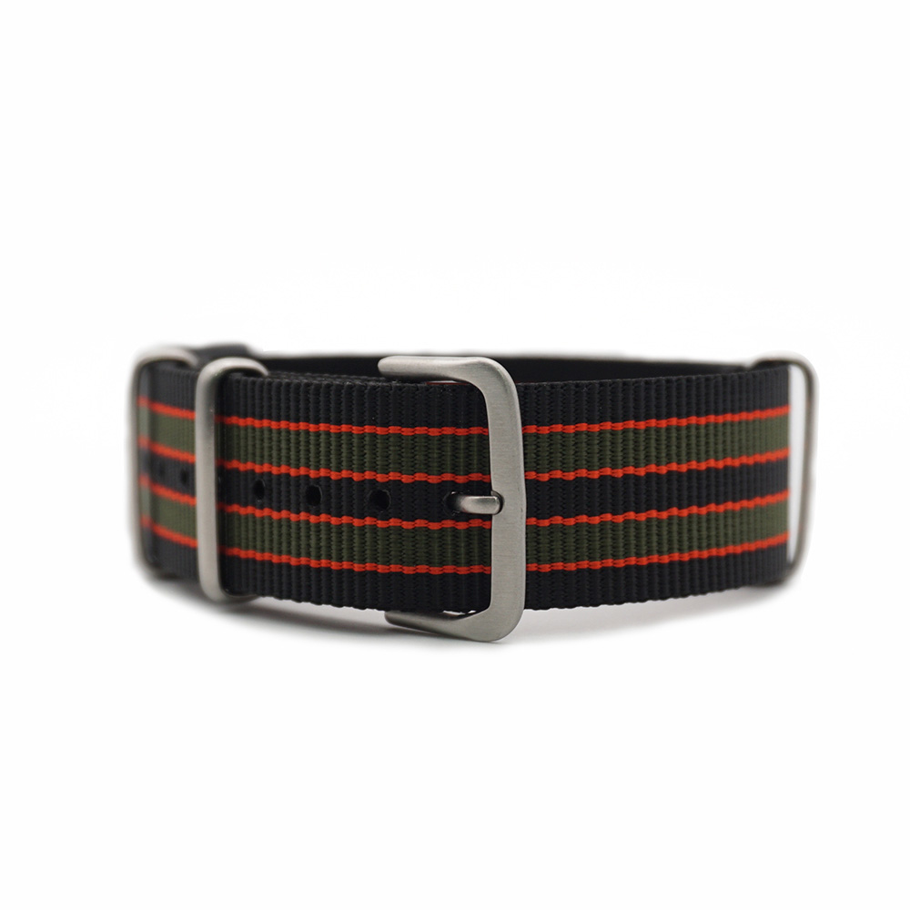 Hot Activity High Quality Watch Strap 20mm 22mm Valentine 39 s Day Couple Nylon Strap NATO Watchands in Watchbands from Watches