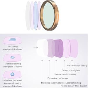 Image 5 - Orijinal DJI Osmo Cep Su Geçirmez Kılıf Lens filtre seti Dalış Filtre UV CPL ND8 Filtresi Osmo Cep Kolu Gimbal Aksesuarları