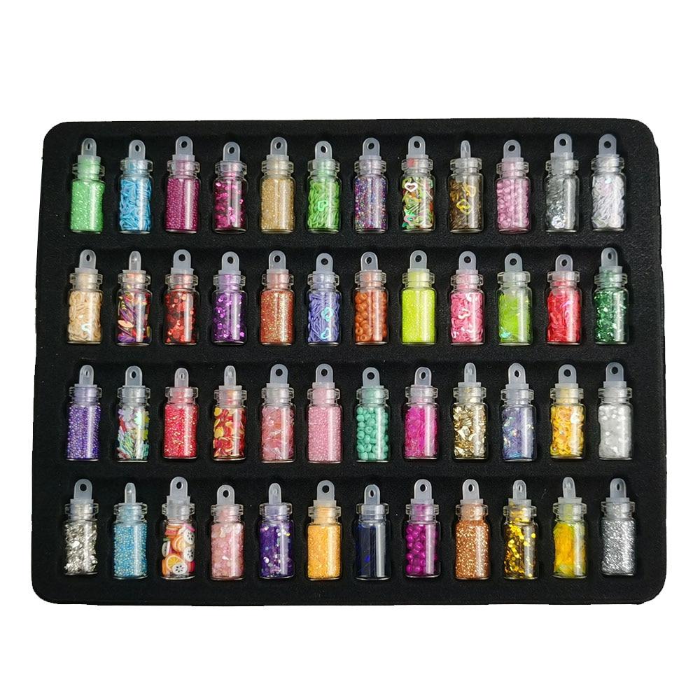 Маникюрный набор гель лаков для ногтей 20/10 шт Цветной Гель