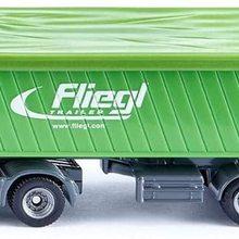 Mit Kippsattel-Auflieger Abnehmbare Dachplane Fr Grn/orange Metall/kunststoff