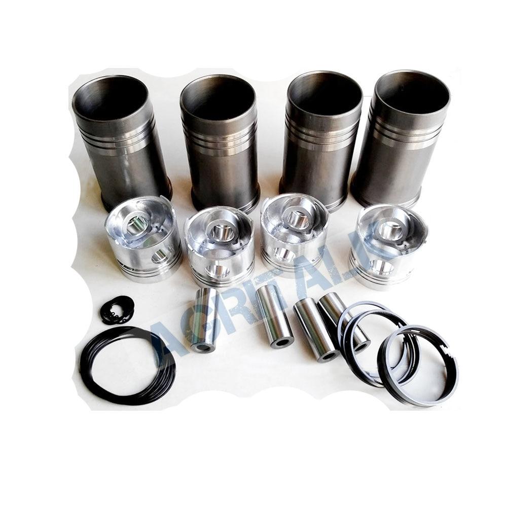 Juego de pistones, forros, anillos de pistón, pasadores de pistón y pinzas para el motor Yituo 4RZT número de pieza: