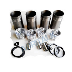 Set of pistons, liners, piston rings, piston pins and circlips for Yituo engine 4RZT part number: