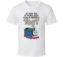 Tomas pociąg koszulka zabawna koszulka Prosti Streetwear koszulka