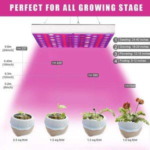 Image 4 - LED Grow Light Phyto Lamp 45W Lamp For Plant AC85 265V Phytolamp For Plants Full Spectrum For Plants Flower Seedling Cultivation