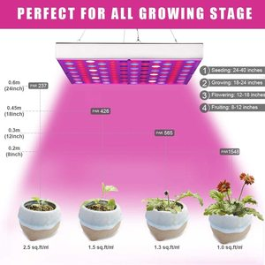 Image 4 - LED Wachsen Licht Phyto Lampe 45W Lampe Für Anlage AC85 265V Phytolamp Für Pflanzen Volle Spektrum Für Pflanzen Blume Sämling anbau