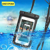 Funda flotante impermeable para teléfono móvil, funda protectora Universal para iPhone 12, 11 Pro Max, Samsung, Xiaomi, natación, a prueba de agua