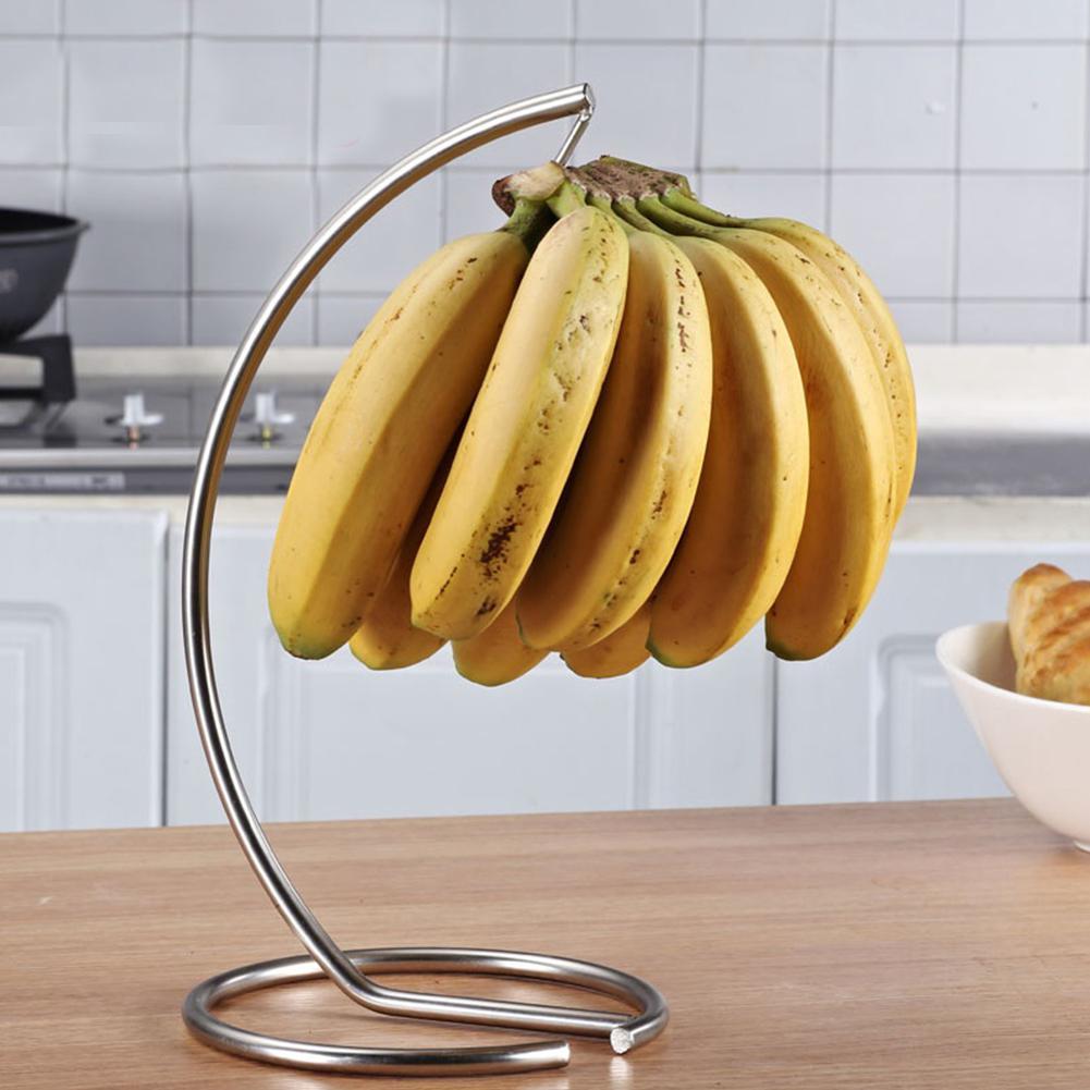 MeterMall Multifunction Banana Hanger Rack for Fruit Displaying Kitchen Storage|Racks & Holders| |  - title=