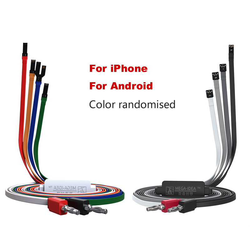 QIANLI Power Supplytest Cable For IPhone XS MAX X 8G 8P X 7G 7P 6S 6SP 6G 6P DC Power Control Wire Test Line For Android