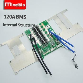4s bms lifepo4 bluetooth con comunicación balance UART/RS485 LifePo4 60a 80a 100a 120a Placa de protección de litio inverter 2