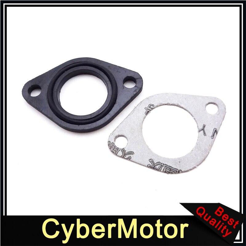 PZ19 110cc 125cc Carburateur Carb Manifold INTAKE PIPE Gasket Spacer Seal