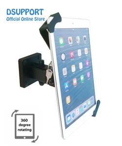 Image 2 - New Tablet stand holder desk stand/wall mounted anti thief for 7 13 inch variety size tablets, universal tablet stand with lock
