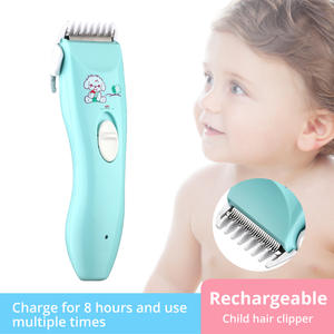 Shaver Hair-Trimmer Electric-Hair-Clipper Baby Care Cutting-Remover USB Quietkids Rechargeable
