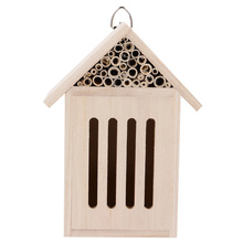 Outdoor Garden Wood Insect House Creative Beehive Bug Room Hotel Bee House