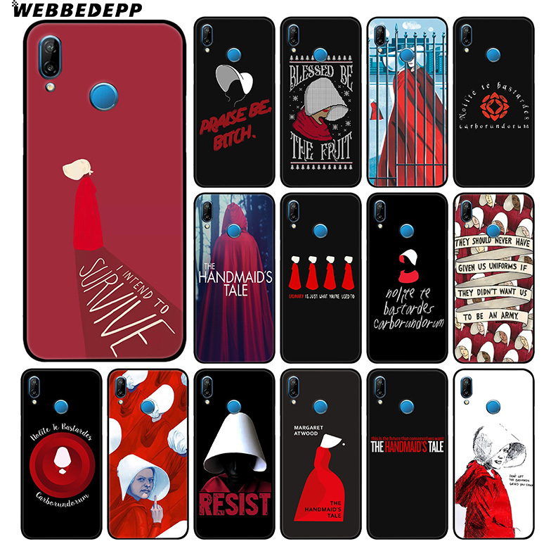 The Handmaid Is Tale Soft Case For Huawei Mate 30 P20 P30 P Smart Z Plus Lite Pro 2018 2019 For Honor View 20 9X Pro