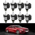 8 шт 722 9 автоматический электромагнитный клапан коробки передач Комплект для Mercedes-Benz