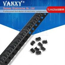 10 pces tlv62565dbvr SOT23-5 tlv62565 sot-23 chip do regulador de comutação
