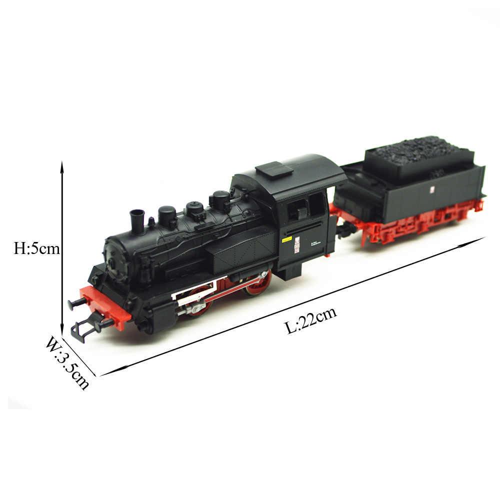 1 шт. HO 1/87 немецкий начальный Европейский паровой локомотив поезд модель с хорошим качеством Подарочные игрушки